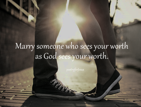 the one worth marrying